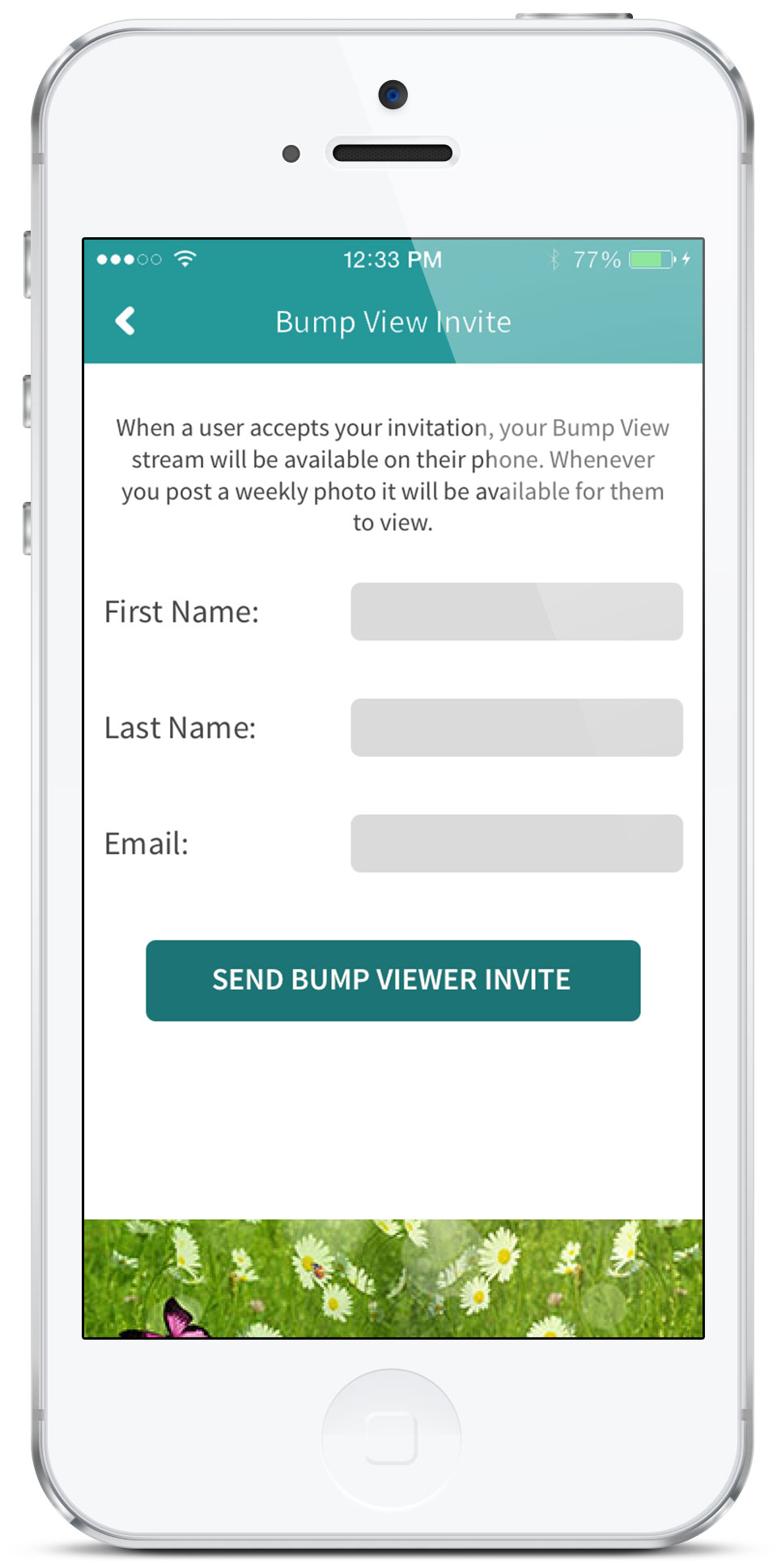 Bump View Invite